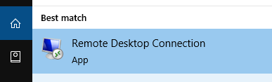 Pick remote desktop
