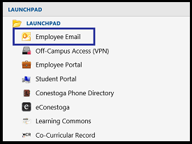 employee email in myconestoga