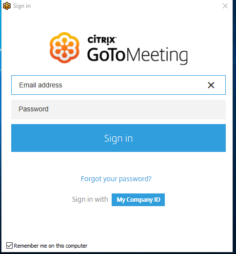 GoToMeeting | IT | Conestoga College
