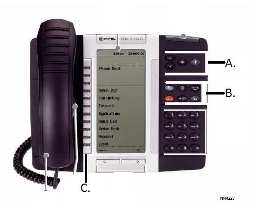 using your mitel phone